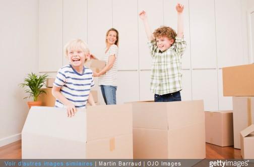 5 astuces pour r ussir son d m nagement avec des enfants. Black Bedroom Furniture Sets. Home Design Ideas