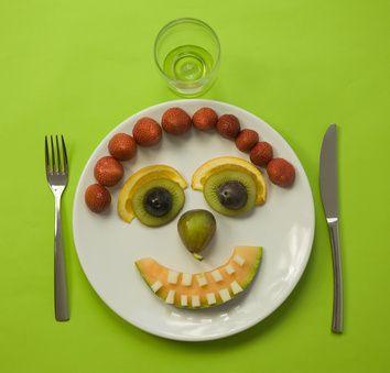 Sourire au melon