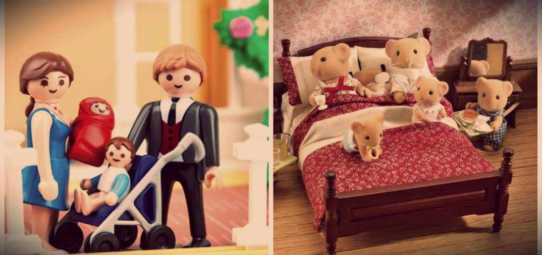 sylvanian VS playmobil