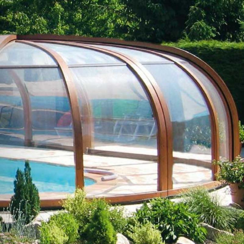 abri protection piscine