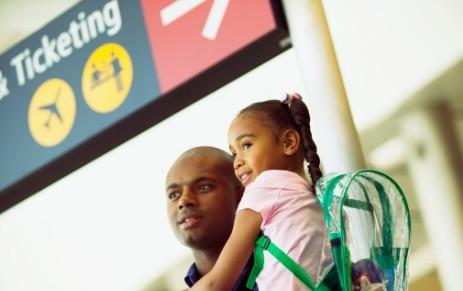 voyage aeroport famille