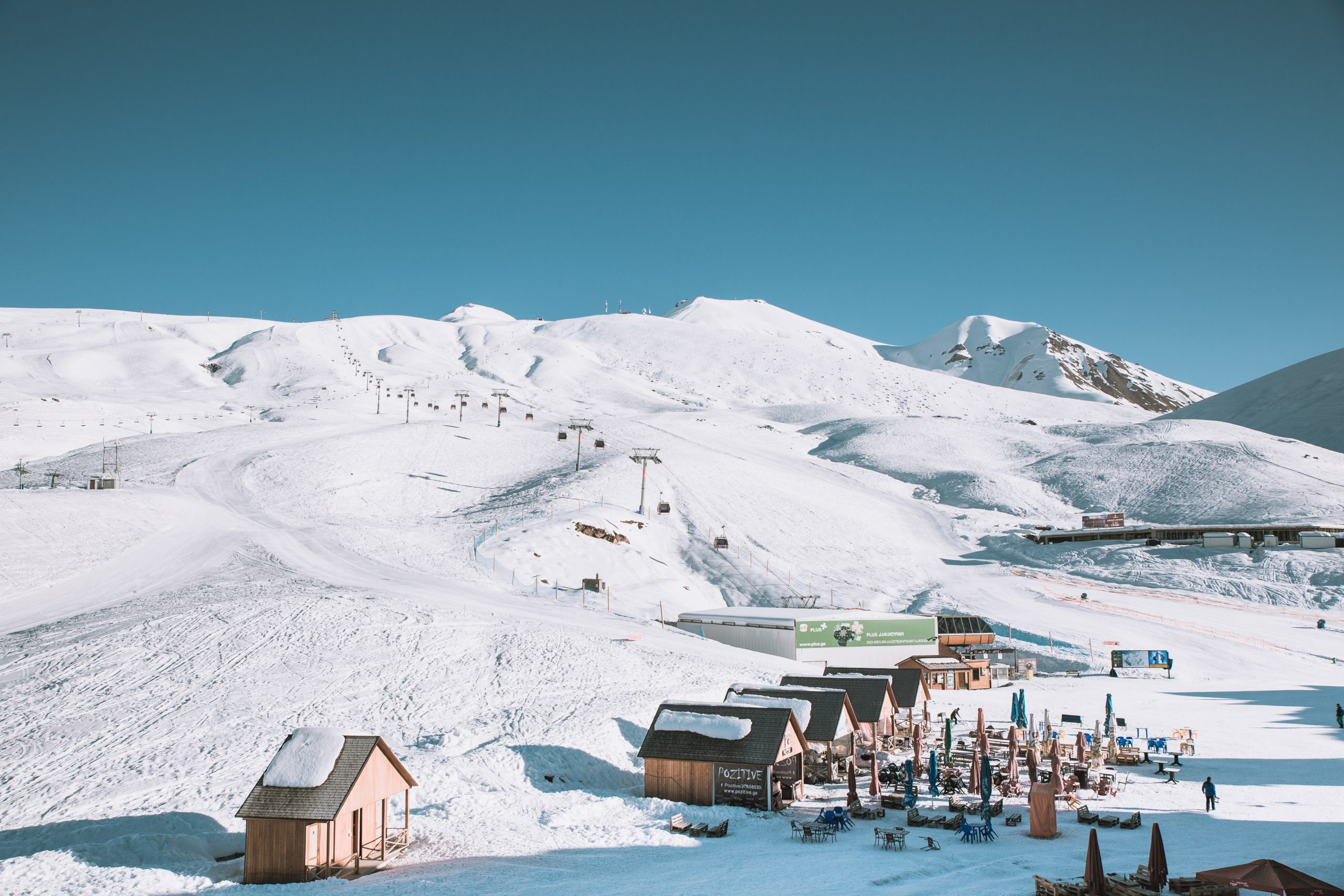 Station ski familiale